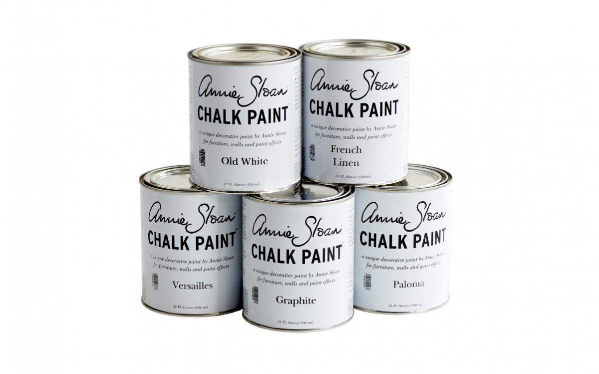 Piorra maison boutique en ligne chalk paint par annie for Peinture pour tissu ameublement
